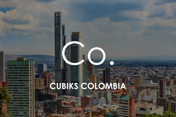 Bogota cityscape for Cubiks Offices Colombia