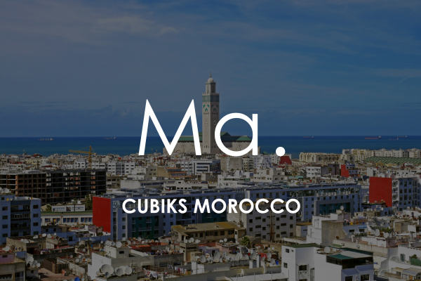 Marrakech cityscape for Cubiks Offices Morocco