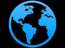 International Globe Graphic